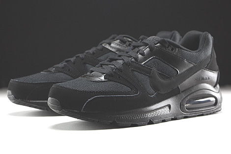 Nike Air Max Command Schwarz Seitendetail