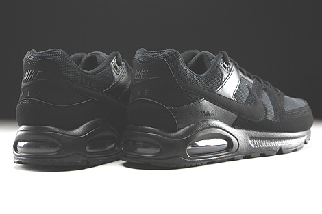 Nike Air Max Command Black Black Black Back view