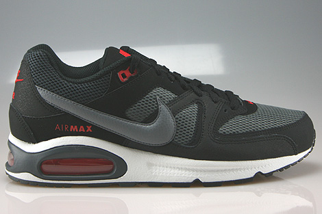 Nike Air Max Command Black Cool Grey Dark Grey Chilling Red