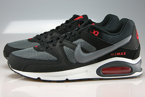 Nike Air Max Command Black Cool Grey Dark Grey Chilling Red Profile