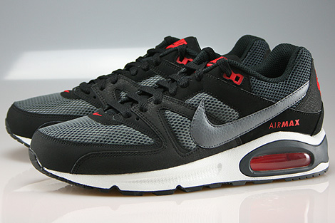 Nike Air Max Command Black Cool Grey Dark Grey Chilling Red Sidedetails