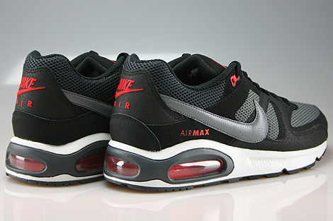 Nike Air Max Command Black Cool Grey Dark Grey Chilling Red Back view