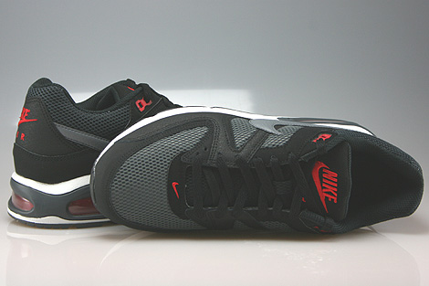 Nike Air Max Command Black Cool Grey Dark Grey Chilling Red Over view