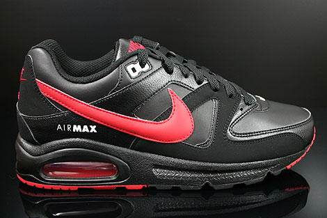 Nike Air Max Command Leather Gym Red Black White | Nike air