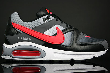Nike Air Max Command Black Solar Red Dark Grey 397689 005