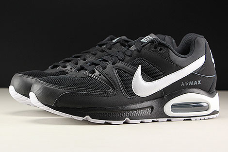 Nike Air Max Command Black White Cool Grey Profile