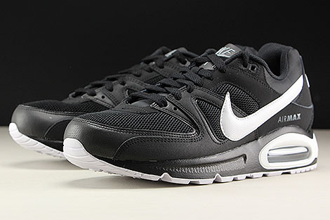 Nike Air Max Command Black White Cool Grey Sidedetails