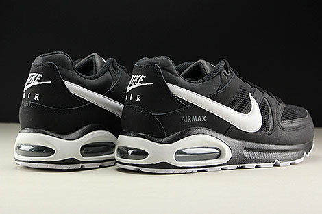 Nike Air Max Command Black White Cool Grey Back view