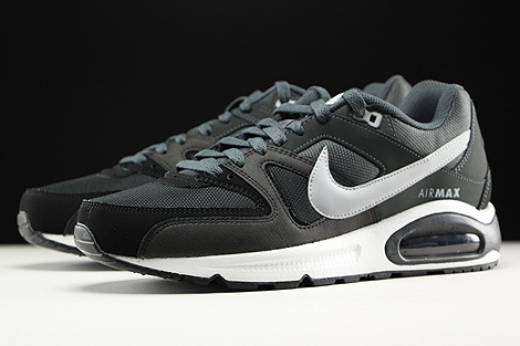 Nike Air Max Command Black Wolf Grey Anthracite White Sidedetails