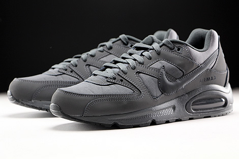 Nike Air Max Command Dunkelgrau Anthrazit Grau Seitendetail
