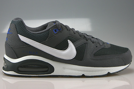 Nike Air Max Command Dunkelgrau Weiss Anthrazit Blau