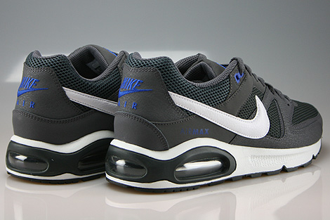 nike air max command dunkelgrau weiss anthrazit blau. Black Bedroom Furniture Sets. Home Design Ideas