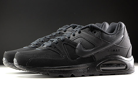 Nike Air Max Command Leather Schwarz Anthrazit Seitenansicht