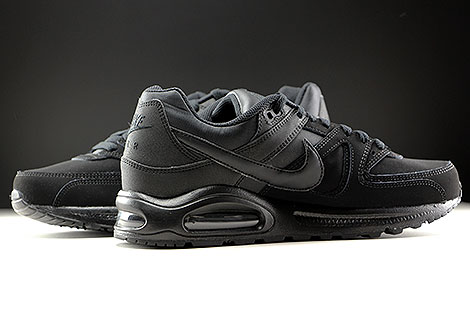 Nike Air Max Command Leather Schwarz Anthrazit Innenseite