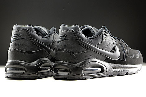 Nike Air Max Command Leather Schwarz Anthrazit Rueckansicht
