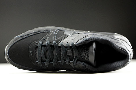 Nike Air Max Command Leather Black Anthracite Over view