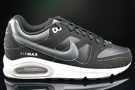 Nike Air Max Command Leather Schwarz Anthrazit Grau Weiss
