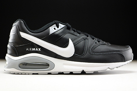 Nike Air Max Command Leather Black White Wolf Grey Right