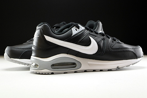 Nike Air Max Command Leather Black White Wolf Grey Inside
