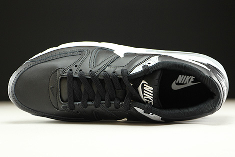 Nike Air Max Command Leather Black White Wolf Grey Over view
