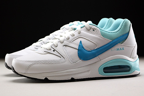 Nike Air Max Command Leather GS White Blue Lagoon Copa Profile