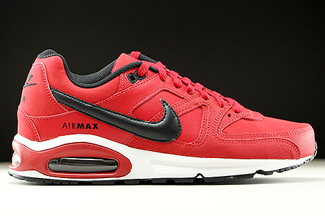 Nike Air Max Command Leather Gym Red Black White Right
