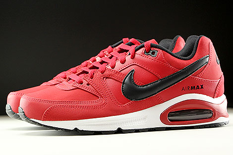Nike Air Max Command Leather Gym Red Black White Profile