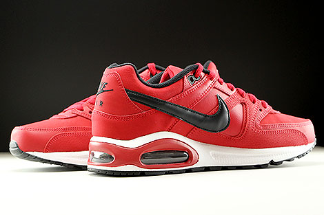 Nike Air Max Command Leather Gym Red Black White Inside