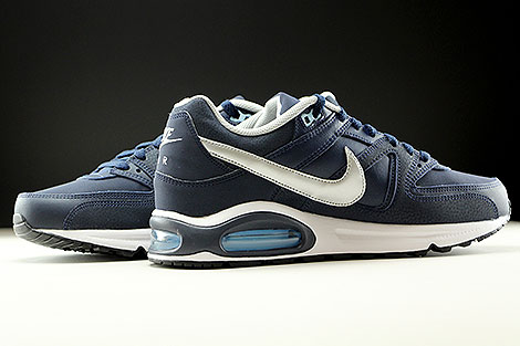 Nike Air Max Command Leather Obsidian Metallic Silver White Inside