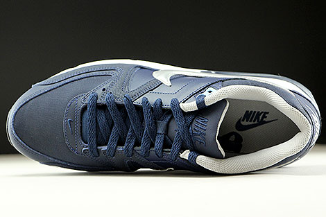 426466c3a6d76e Nike Air Max Command Leather Obsidian Metallic Silver White - Purchaze