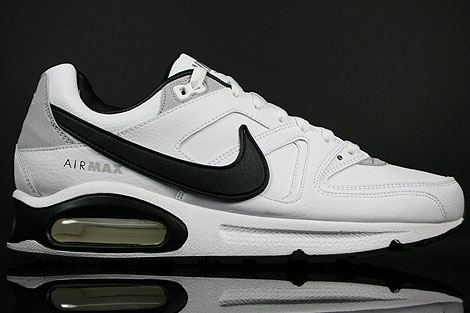 Nike Air Max Command Leather Weiss Schwarz Grau
