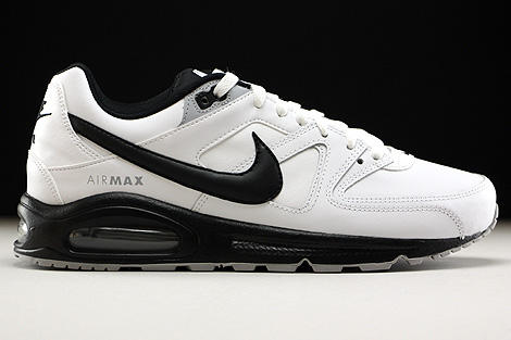 Nike Air Max Command Leather White Black Wolf Grey