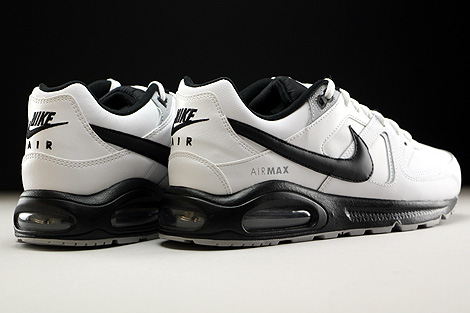 Nike Air Max Command Leather White Black Wolf Grey Back view
