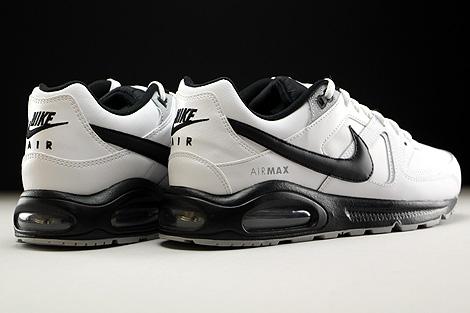 Nike Air Max Command Leather Weiss Schwarz Grau Rueckansicht