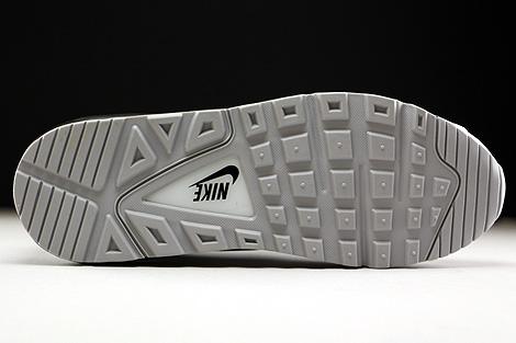 Nike Air Max Command Leather Weiss Schwarz Grau Laufsohle