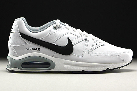 sports shoes eeb7f fd89a nike air max command leather white