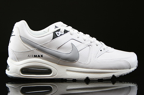 Nike Air Max Command Leather Weiss Grau Anthrazit