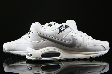 Nike Air Max Command Leather Weiss Grau Anthrazit Innenseite