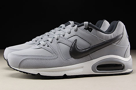 Nike Air Max Command Leather White Black Wolf Grey 749760