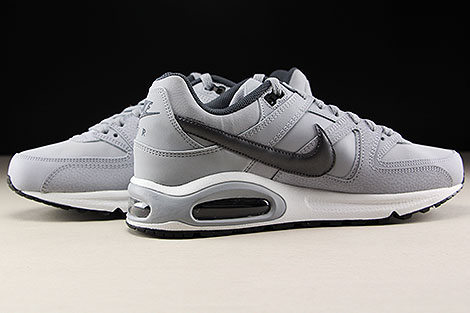 Nike Air Max Command Leather Grau Dunkelgrau Schwarz Innenseite