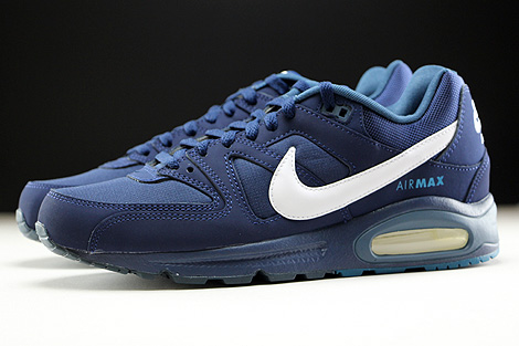 Nike Air Max Command Midnight Navy White Profile