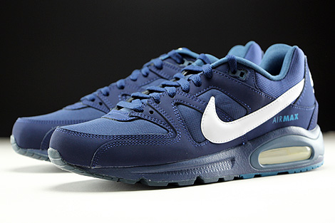 Nike Air Max Command Midnight Navy White Sidedetails