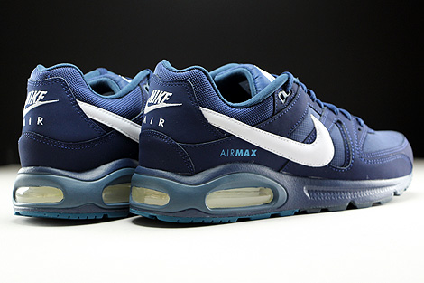 Nike Air Max Command Midnight Navy White Back view