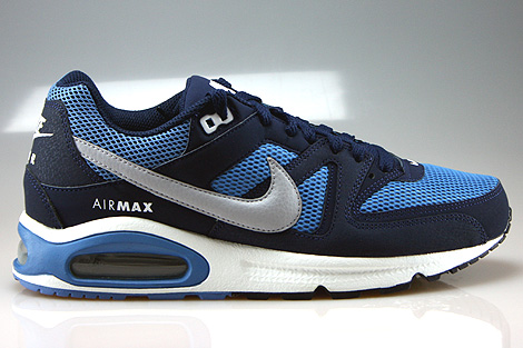 Nike Air Max Command Midnight Navy Wolf Grey Horizon Right