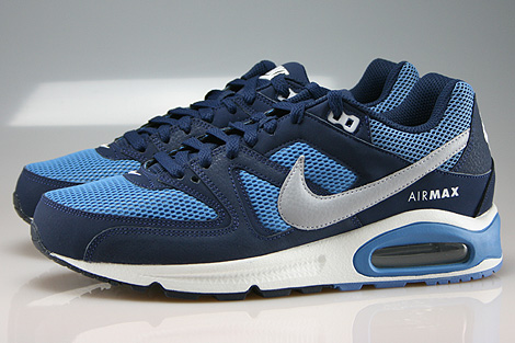 Nike Air Max Command Midnight Navy Wolf Grey Horizon Profile