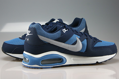 Nike Air Max Command Midnight Navy Wolf Grey Horizon Inside