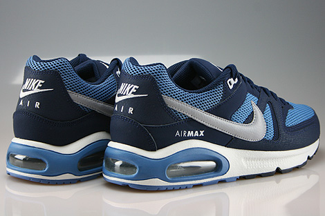 Nike Air Max Command Midnight Navy Wolf Grey Horizon Back view