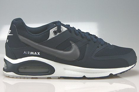 Nike Air Max Command Obsidian Dark Grey Pure Platinum