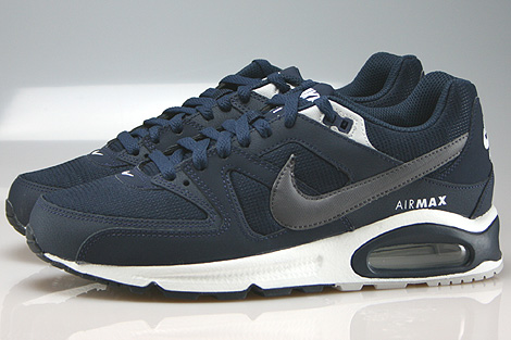 Nike Air Max Command Obsidian Dark Grey Pure Platinum Profile