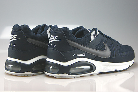 Nike Air Max Command Obsidian Dark Grey Pure Platinum Back view